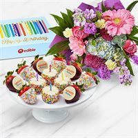 Birthday Flower Bouquet & Fruit Delivery | Edible Arrangements