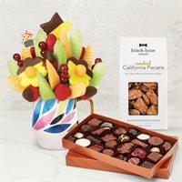 Fruit & Nuts Chocolate Daisy