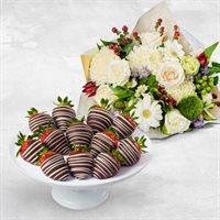 Deepest Sympathy FruitFlowers  Bouquet