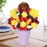Thank You Bouquet with Thank You Belgian Chocolate Pop
