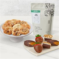 Thrive Farmers Coffee Cookies and Dipped Treats Bundle
