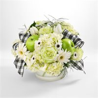 Apple & Flower Centerpiece