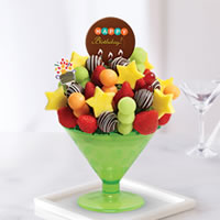 Birthday Wish-tini w/ Happy Bday Pop