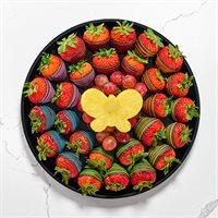 Rainbow and Butterflies Fruit Platter