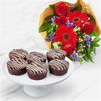 Chocolate Christmas Bouquet Bundle