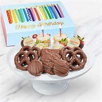 Chocolate-Dipped Birthday Box