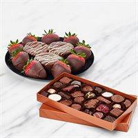 Deluxe Chocolate Berry Duo