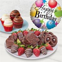 Dipped Birthday Indulgence Dessert Platter