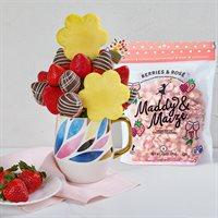 Happy Mothers Day Popcorn  Berries Bundle