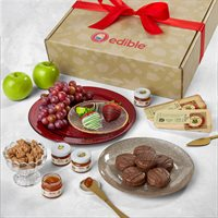 Holiday Host Fruit and Cheese Gift Box