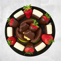 Mini Ultimate Dipped Fruit Platter