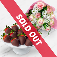FruitFlowers® and Chocolate Dipped Strawberries