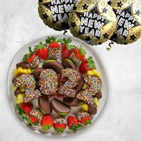 New Year's Ball Platter