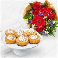 Thanksgiving Pumpkin Cheesecake Bouquet