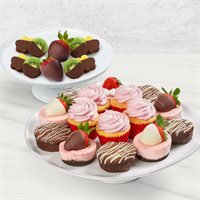 Strawberry Sweets and Fruit Bundle