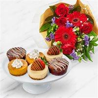 Thanksgiving Cheesecake Bouquet