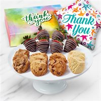 Thank You Balloon, Cookies & Fruit Gift | Edible Arrangements