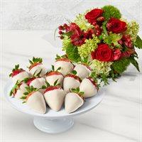 Winter White Chocolate Fruitflowers