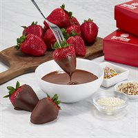 Chocolate Strawberry Dipping Kit