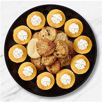 Pumpkin Cheesecake & Cookies Platter