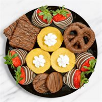 Chocolate Treats & Pumpkin Cheesecake Platter