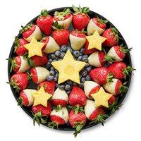 Red, White & Blueberry Platter