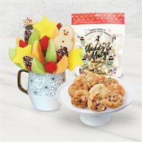 Santa's Peppermint Mug & Cookies Bundle