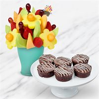 Deluxe Brownie Bouquet Bundle