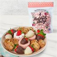 Sweet Treats and Strawberry Crunch Fruit Gift Bundle