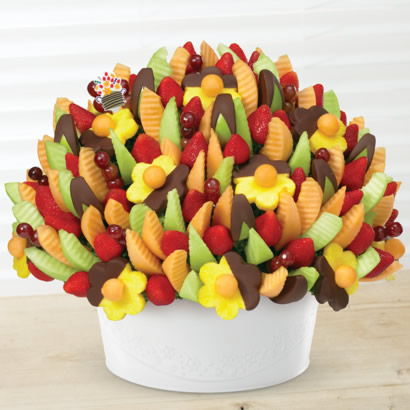 Delicious Party®  Dipped Apple Wedges & Pineapple