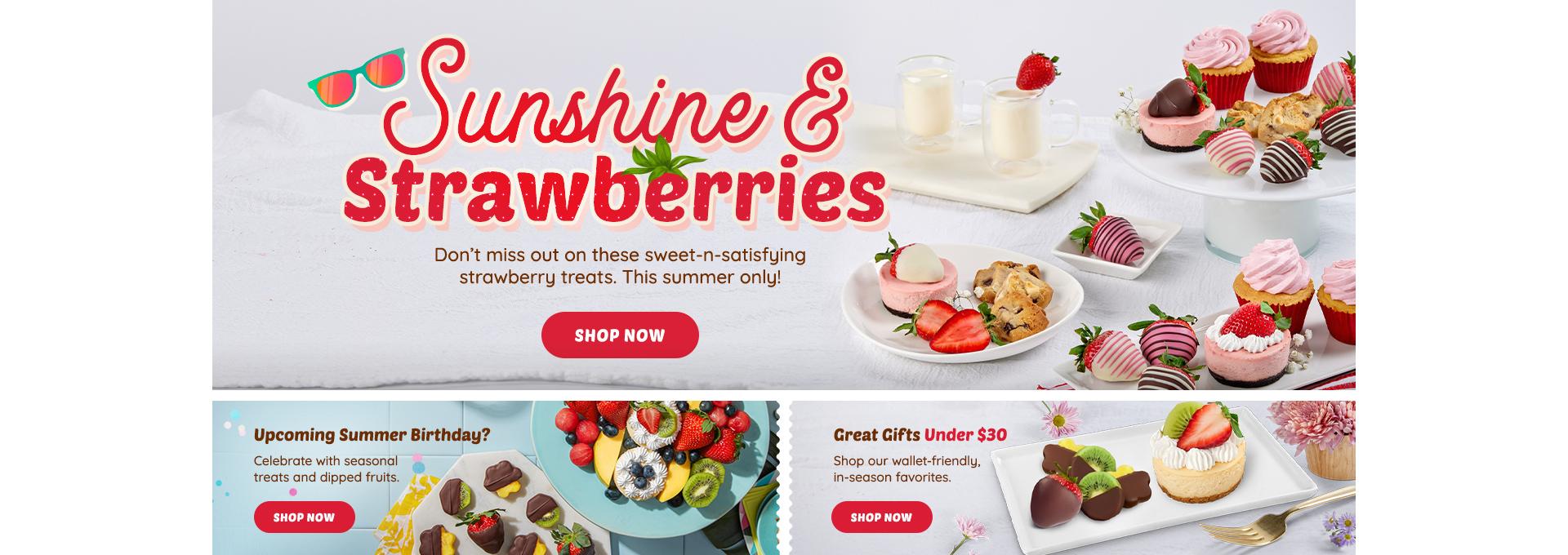 HP DT Strawberry Desserts, Birthday, Under 30