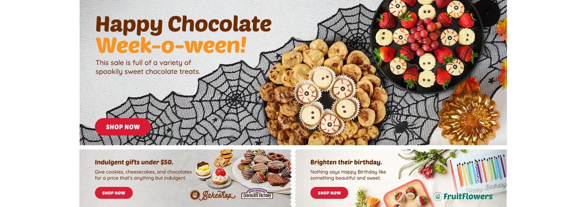 Chocolate week/halloween