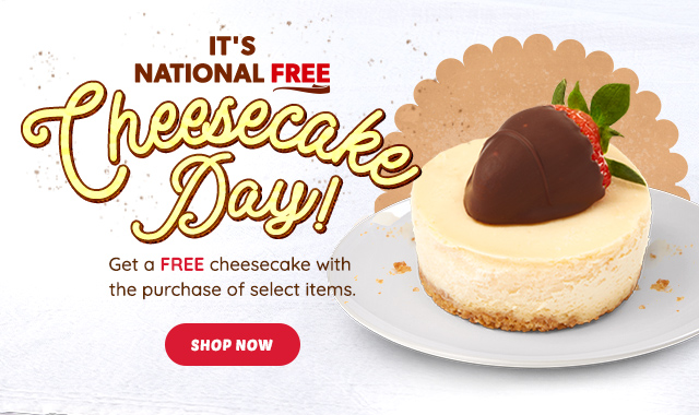 H1 MW National Cheesecake Day