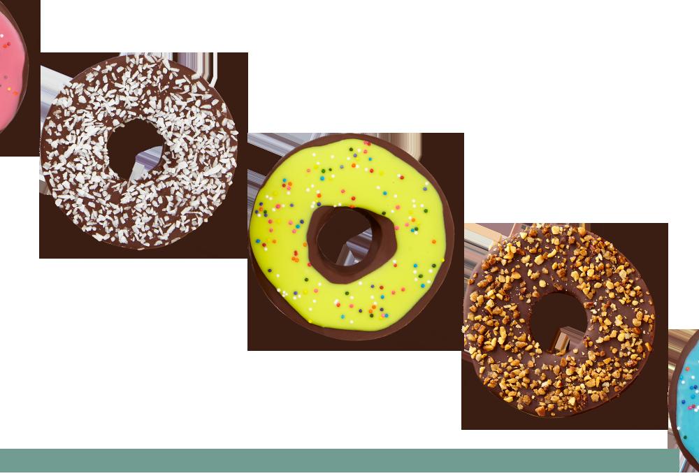 edible donuts